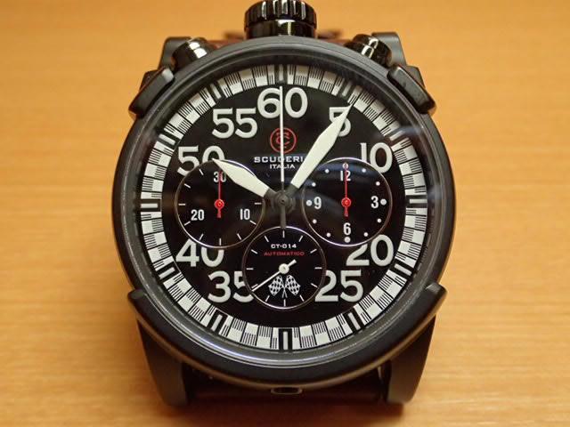 CT スクーデリア CT SCUDERIA 腕時計 CS10504 自動巻き オートマチック クロノグラフ メンズ 【正規輸入品】優美堂 分割払いできます!