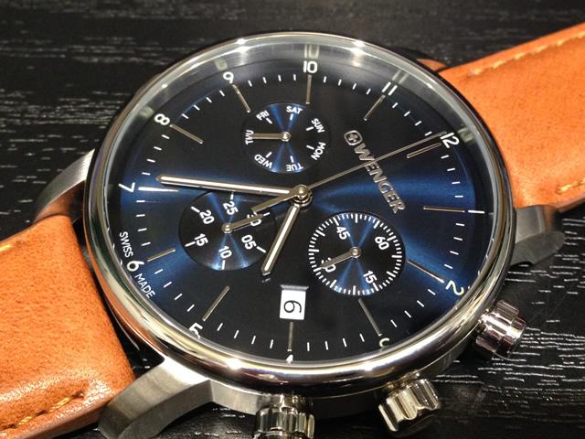 WENGER (ウェンガー) 腕時計 Urban Classic Chrono 01.1743.104 復活e優美堂のウェンガーは安心のメーカー保証3年付き日本正規商品です。