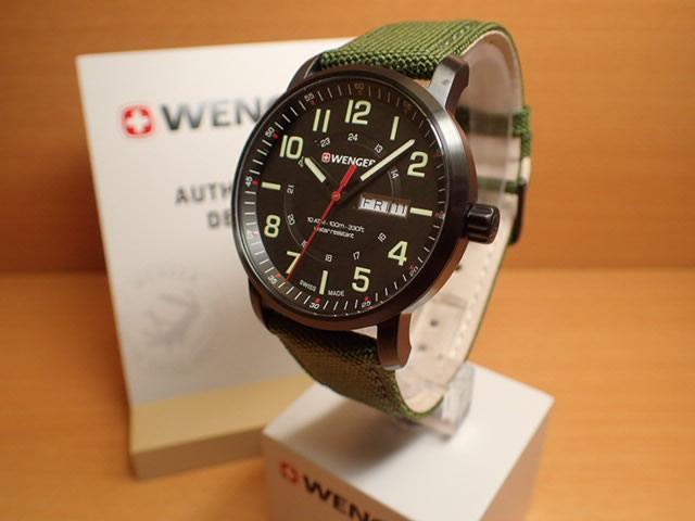 WENGER (ウェンガー) 腕時計 Attitude Day Date 01.1541.104 復活e優美堂のウェンガーは安心のメーカー保証3年付き日本正規商品です。