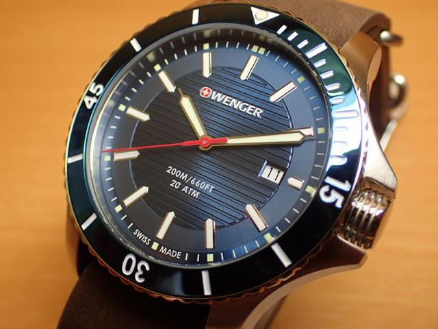 WENGER (ウェンガー) 腕時計 Seaforce 01.0641.121 復活e優美堂のウェンガーは安心のメーカー保証3年付き日本正規商品です。