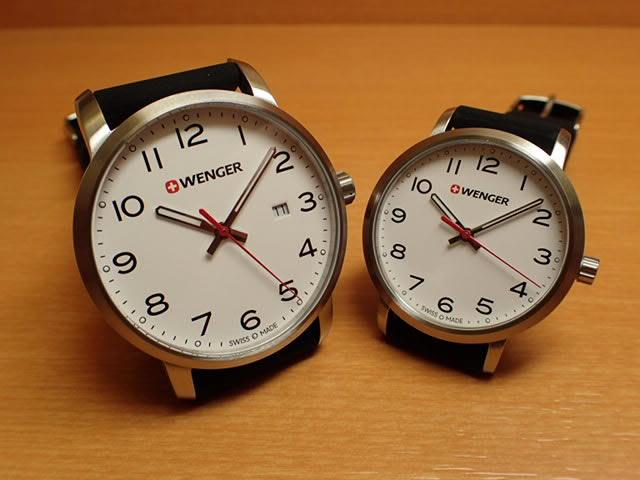 WENGER (ウェンガー) 腕時計 Avenue ホワイト文字盤 ペアウォッチ 01.1641.103/01.1621.103 復活e優美堂のウェンガーは安心のメーカー保証3年付き日本正規商品です。