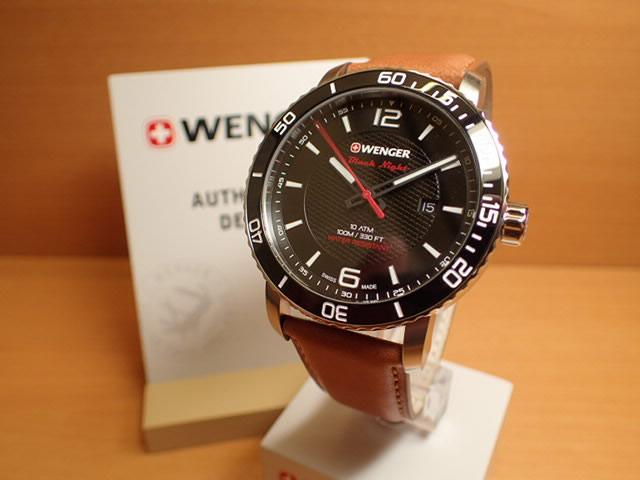 WENGER (ウェンガー) 腕時計 Roadster Black Night 01.1841.105 復活e優美堂のウェンガーは安心のメーカー保証3年付き日本正規商品です。
