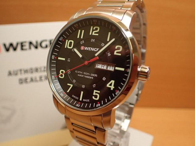 WENGER (ウェンガー) 腕時計 Attitude Day Date 01.1541.102 復活e優美堂のウェンガーは安心のメーカー保証3年付き日本正規商品です。