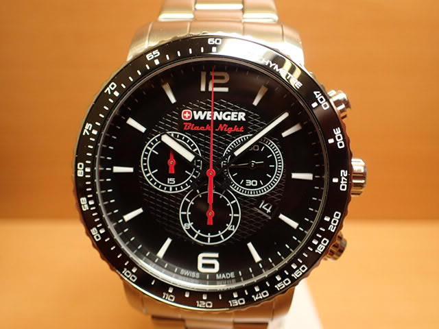 WENGER (ウェンガー) 腕時計 Roadster Black Night 01.1843.103 復活e優美堂のウェンガーは安心のメーカー保証3年付き日本正規商品です。