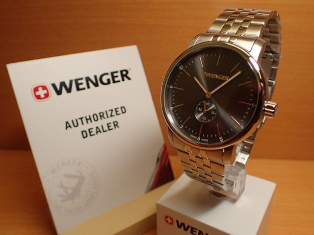 WENGER (ウェンガー) 腕時計 Urban Classic Petit Second 01.1741.106 復活e優美堂のウェンガーは安心のメーカー保証3年付き日本正規商品です。