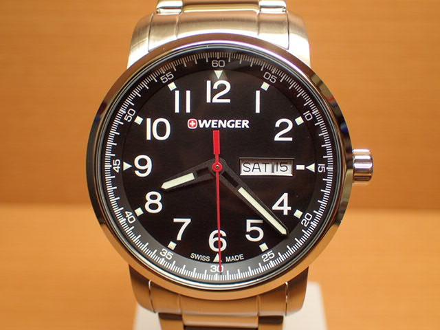 WENGER (ウェンガー) 腕時計 Attitude Day Date Heritage 01.1541.107 復活e優美堂のウェンガーは安心のメーカー保証3年付き日本正規商品です。