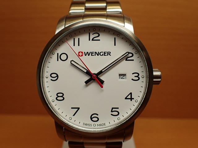 WENGER (ウェンガー) 腕時計 Avenue 01.1641.104 復活e優美堂のウェンガーは安心のメーカー保証3年付き日本正規商品です。