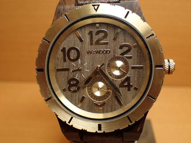 ウィーウッド WEWOOD 腕時計 ウッド/木製 KARDO MB CHOCO GOLD 9818155 メンズ 【正規輸入品】