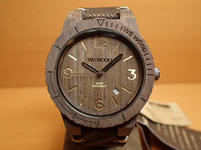 ウィーウッド WEWOOD 腕時計 ウッド/木製 ALPHA SW CHOCO ROUGH 9818144 メンズ 正規輸入品