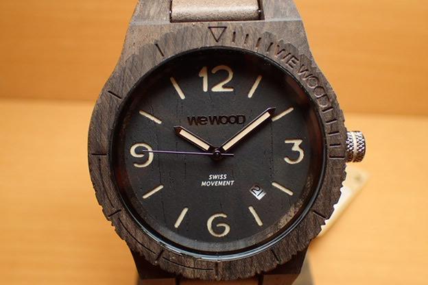 ウィーウッド WEWOOD 腕時計 ウッド/木製 ALPHA SW BLACK ROUGH 9818143 メンズ 【正規輸入品】