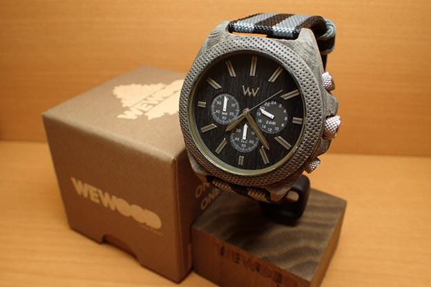 ウィーウッド WEWOOD 腕時計 ウッド/木製 PHOENIX CHRONO TEAK BK 9818141 メンズ 正規輸入品