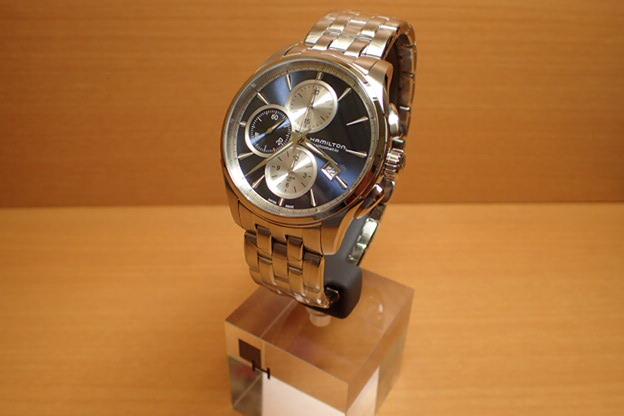 ハミルトン 腕時計 HAMILTON ジャズマスター オートクロノ メタルブレスレット H32596141【送料無料】