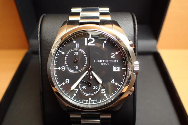 ハミルトン HAMILTON 腕時計 Khaki Pilot Pioneer Chrono カーキ パイロット パイオニア クロノ H76512133 メンズ 【送料無料】【正規輸入品】