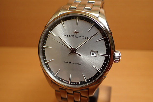 ハミルトン ジャズマスター ジェント 腕時計 HAMILTON クオーツ SSブレス H32451151【送料無料】