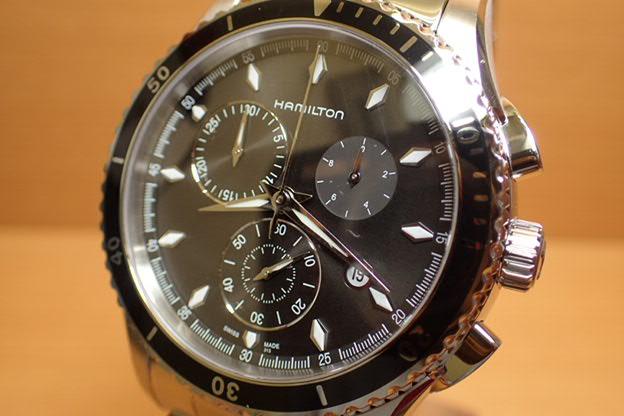 ハミルトン ジャズマスター 時計 腕時計 シービュー クロノクォーツ H37512131 送料無料