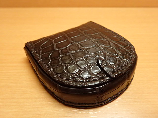 GREDEER クロコダイル 馬蹄小銭入れ GCKW005B-Z ブラウンADVANTIQE FINISH 塗装まで日本の職人による手仕事でできています 日本製 こだわりの オンラインショッピング お得セット 作り 原皮のなめし