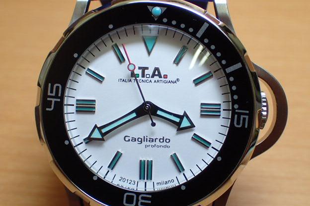 ITA 腕時計 アイティーエー Gagliardo profondo ガリアルド・プロフォンド 正規商品 Ref.24.01.02優美堂のI.T.A アイティーエー 腕時計はメーカー保証2年の正規商品です