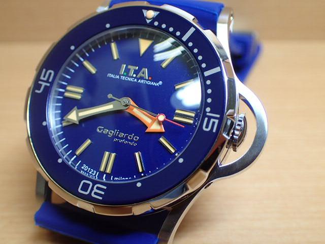 I.T.A アイティーエー 腕時計 Gagliardo profondo ガリアルド・プロフォンド 正規商品 Ref.24.01.04優美堂のI.T.A アイティーエー 腕時計はメーカー保証2年の正規商品です
