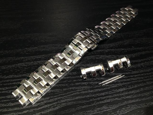 HAMILTON☆ハミルトン☆ジャズマスターオートクロノ 専用 メタルブレスレット 22mm 時計バンド ベルト メタルバンド H605326100 全国送料180円のメール便がご利用いただけます。