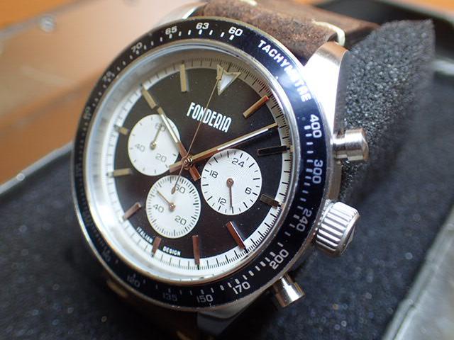 FONDERIA フォンデリア 腕時計 SALTSPEEDER 9A011UNW メンズ 正規輸入品