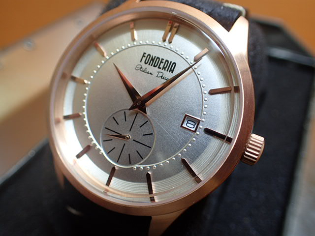 FONDERIA フォンデリア 腕時計 【STREAMLINER】 6R009US1 メンズ 【正規輸入品】