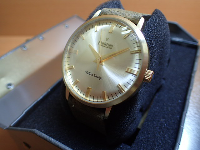 FONDERIA フォンデリア 腕時計 THE PROFESSOR 6G003US1 メンズ 正規輸入品
