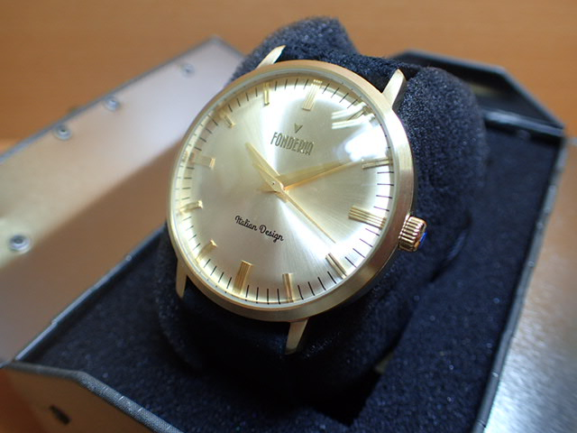 FONDERIA フォンデリア 腕時計 【THE PROFESSOR】 6G003US3 メンズ 【正規輸入品】