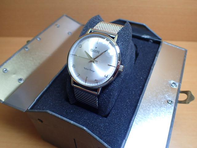 FONDERIA フォンデリア 腕時計 【THE PROFESSOR】 2A003US1 メンズ 【正規輸入品】