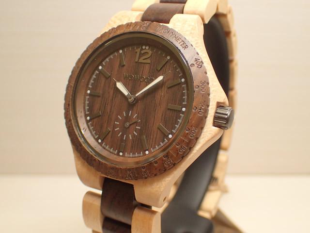 木の腕時計 ウィーウッド WEWOOD 腕時計 ウッド/木製 SIKO BEIGE CHOCO 9818159 メンズ バネ式両開きバックル 【正規輸入品】