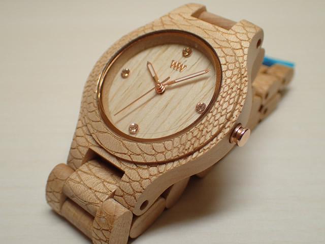 ウィーウッド WEWOOD 腕時計 ウッド/木製 ANTEA BEIGE PHYTON 9818162 レディース 【正規輸入品】