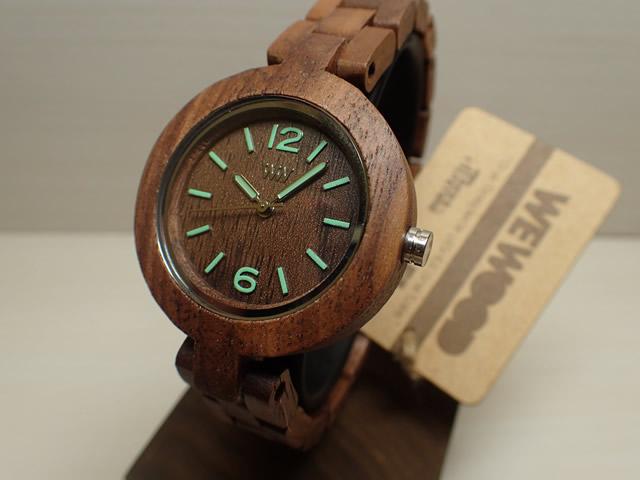 ウィーウッド WEWOOD 腕時計 ウッド/木製 MIMOSA NUT 9818089 レディース 33mm 【正規輸入品】