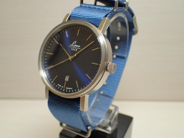 ラコ 腕時計 Laco 862075 クラシック アズール 40mm 自動巻き式 40mm Classic AZUR 40mm優美堂のLaco ラコ腕時計はメーカー保証2年つきの正規販売店商品です。