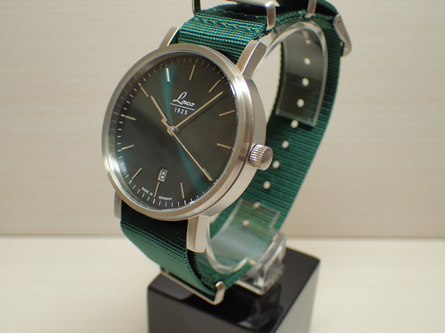 ラコ 腕時計 Laco 862076 Classic PETROL 40 クラシック ペットロール 40 自動巻き式 40mm優美堂のLaco ラコ腕時計はメーカー保証2年つきの正規販売店商品です。