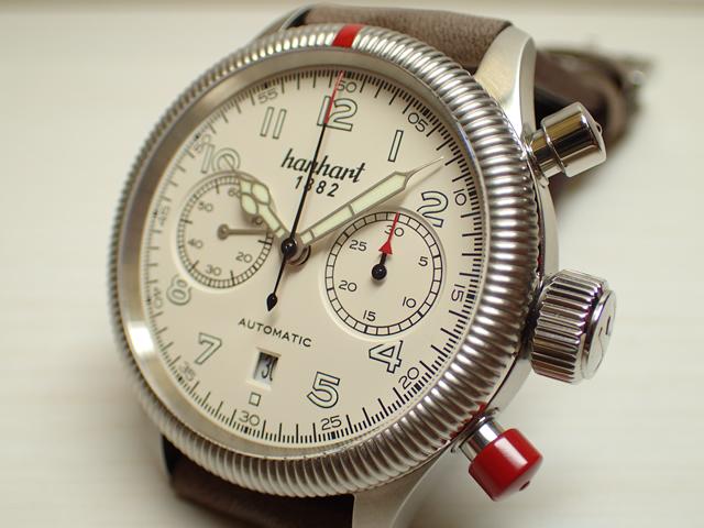 ハンハルト hanhart 腕時計 721.200-001 PIONEER TWINCONTROL パイオニア ツインコントロール 優美堂 分割払いできます!