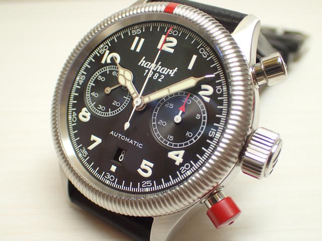 ハンハルト hanhart 腕時計 721.210-001 PIONEER TWINCONTROL パイオニア ツインコントロール 優美堂 分割払いできます!