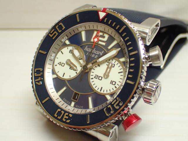 ハンハルト hanhart 腕時計 742.270-132 PRIMUS DIVER プリムス ダイバー 優美堂 分割払いできます!