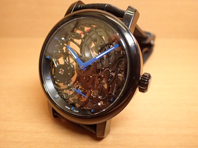 アエロ ウォッチ スケルトン 手巻き式 腕時計 AERO WATCH SKELTON COBWEB A50931NO09AERO WATCH アエロ ウォッチ 日本全国=北は北海道、南は沖縄まで送料0円 送料無料でお届けけします