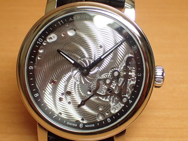 アエロ ウォッチ 手巻き式 腕時計 AERO WATCH A55931AA04GAERO WATCH アエロ ウォッチ★日本全国=北は北海道、南は沖縄まで送料0円 【送料無料】でお届けけします★