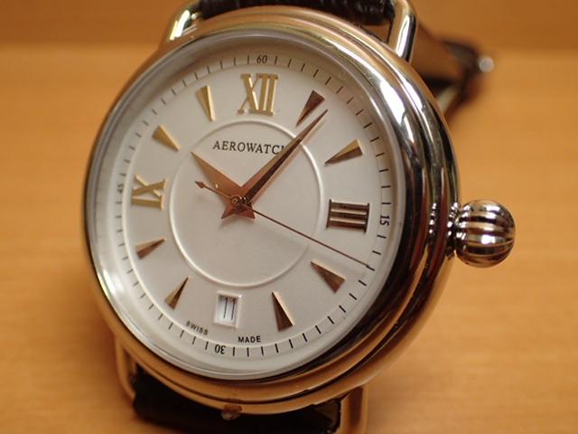 アエロ ウォッチ オートマチック2 オニオンリューズ 腕時計 AERO WATCH Collection 1942 A60900AA07AERO WATCH アエロ ウォッチ★日本全国=北は北海道、南は沖縄まで送料0円 【送料無料】でお届けけします