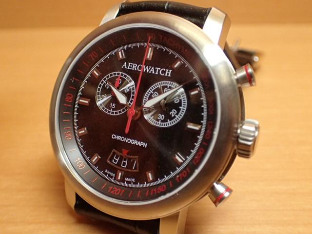 アエロ ウォッチ クロノグラフスポーツ 電池式 腕時計 AERO WATCH Chronograph Sport A87936AA01AERO WATCH アエロ ウォッチ 日本全国=北は北海道、南は沖縄まで送料0円 送料無料でお届けけします