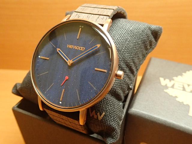 ウィーウッド WEWOOD 腕時計 ウッド/木製 ALBACORE ROSE GOLD BLUE 9818168 メンズ 【正規輸入品】
