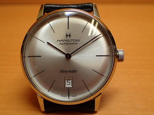ハミルトン イントラマティック 腕時計 HAMILTON INTRA-MATIC 38mm H38455751 メンズ【送料無料】 【正規輸入品】