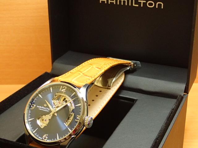 ハミルトン ジャズマスターオープンハート HAMILTON Jazzmaster Open Heart 機械式自動巻き H32705541 メンズ 腕時計 【送料無料】【正規輸入品】
