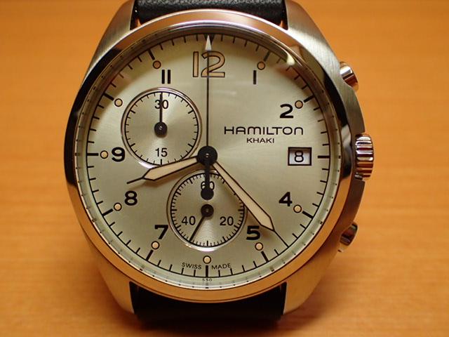 ハミルトン HAMILTON 腕時計 Khaki Pilot Pioneer Chrono カーキ パイロット パイオニア クロノ H76512755 メンズ 【送料無料】【正規輸入品】
