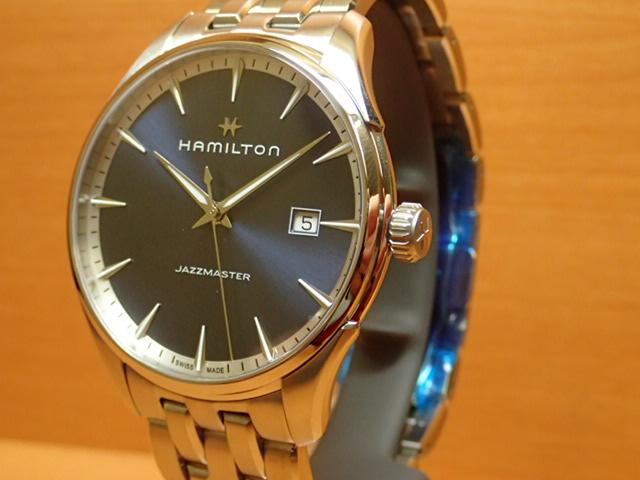 ハミルトン 腕時計 HAMILTON ジャズマスター ジェント クオーツ メタルブレスレット H32451141【送料無料】