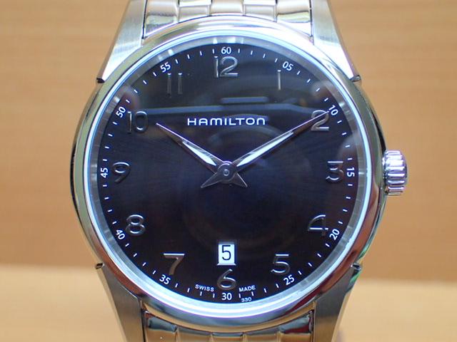 ハミルトン ジャズマスター シンライン 42mm ブラック ダイアル HAMILTON Jazzmaster Thinline H38511133 メンズ 腕時計【送料無料】【正規輸入品】