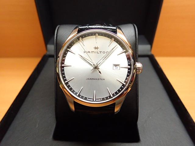 ハミルトン ジャズマスター 時計 限定 プレゼントつき ジェント 腕時計 HAMILTON クオーツ H32451751 送料無料