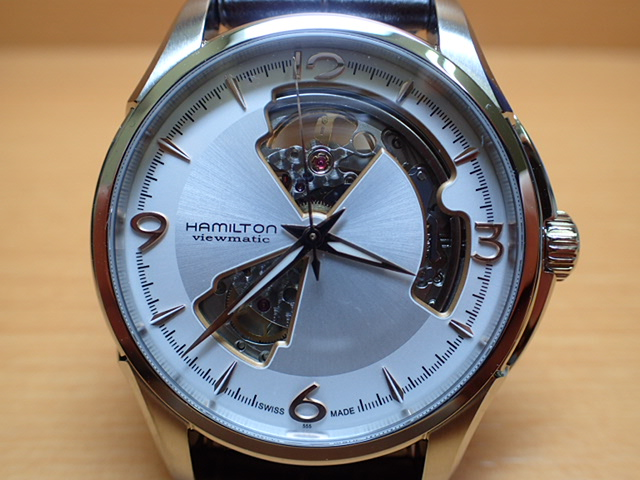 ハミルトン ジャズマスターオープンハート HAMILTON Jazzmaster Open Heart 機械式自動巻き H32565555 メンズ 腕時計 【送料無料】 【正規輸入品】