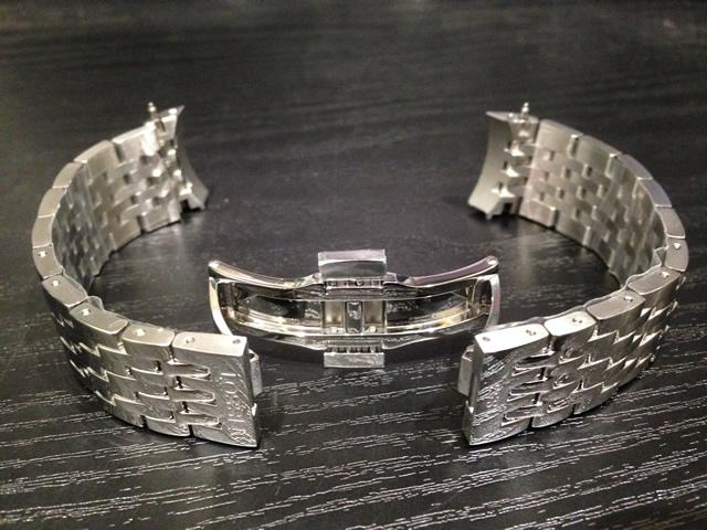 ティソ ベルト 時計 TISSOT 純正時計ベルト バンド ルロックル用 ステンレススチールブレスレット 19mm 腕時計用 時計ベルト 時計用バンド T605014109