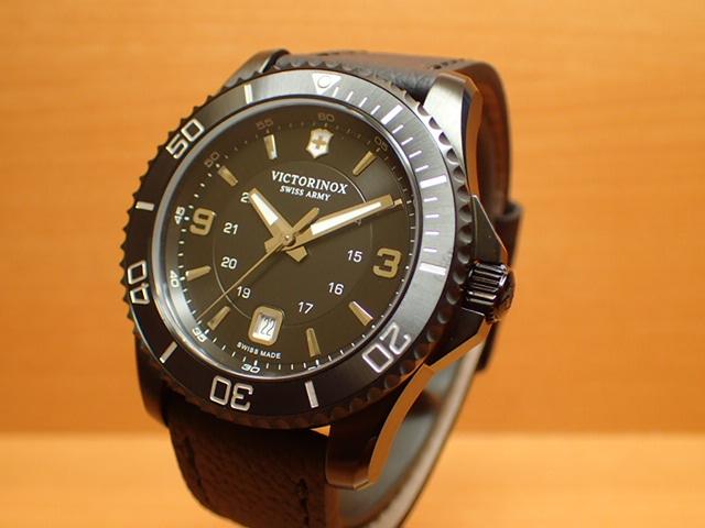 ビクトリノックス マーベリック ラージ ブラックエディション 腕時計 VICTORINOX Maverick Large Black Edition メンズサイズ 43mm Ref.241787